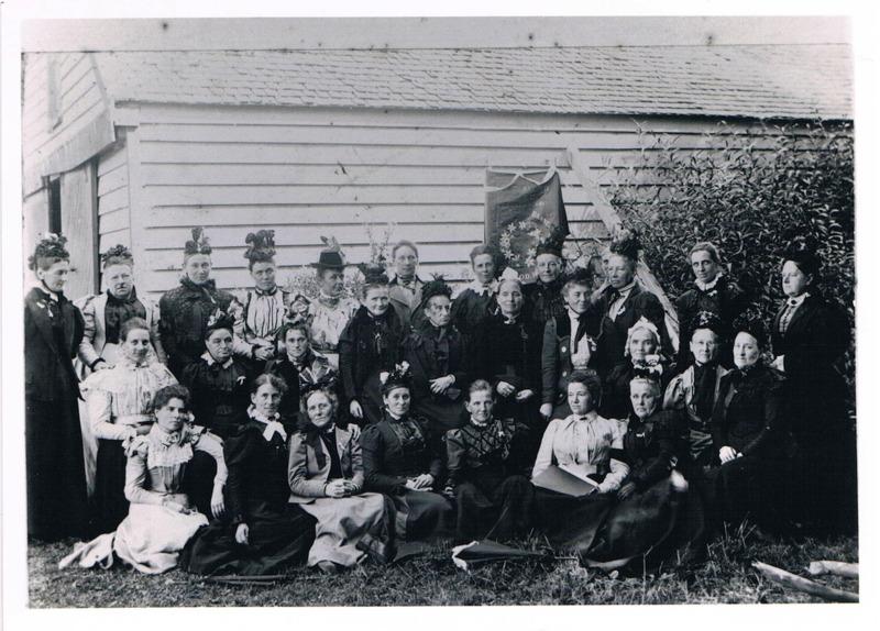 WCTU meeting 1899