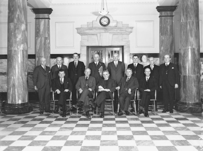 Photograph Labour Cabinet 1935