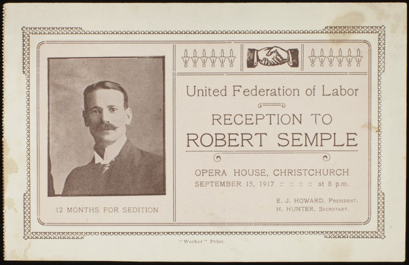 Bob Semple Workers pamphlet