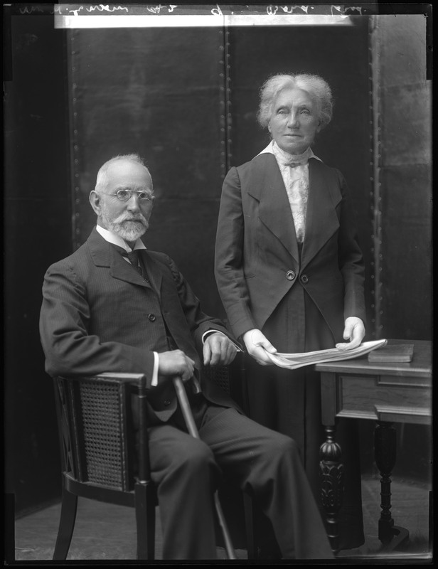 William and Sarah Annie Ensom