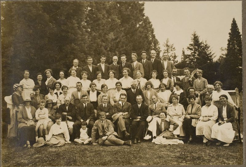 First Canterbury Workers' Educational Association Summer School, 1920.
