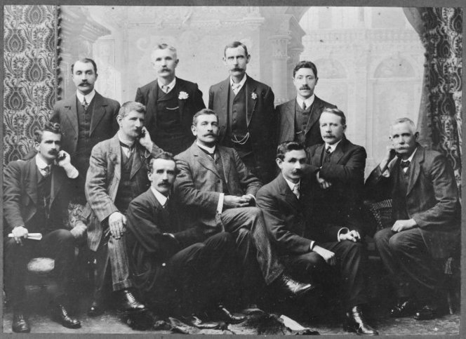 Photograph Socialist Conference 1911