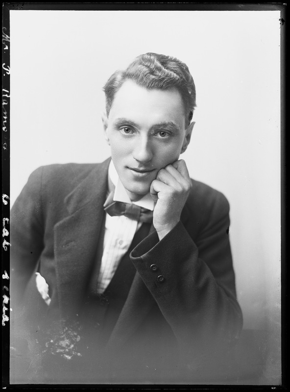 Mr P Ramsay, gentleman ca 1920