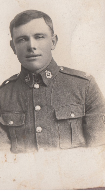 Silas Stedman in uniform